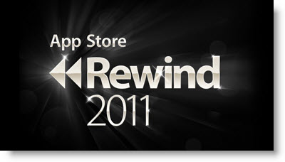 Mest downloadede apps 2011 til iPhone og iPad - App Store Rewind