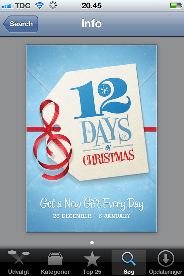 12 julegaver fra iTunes