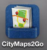 Kort og GPS til iPhone og iPad uden internetforbindelse - CityMaps2Go