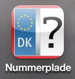 App'en Nummerplade - tjek informationer om naboens bil