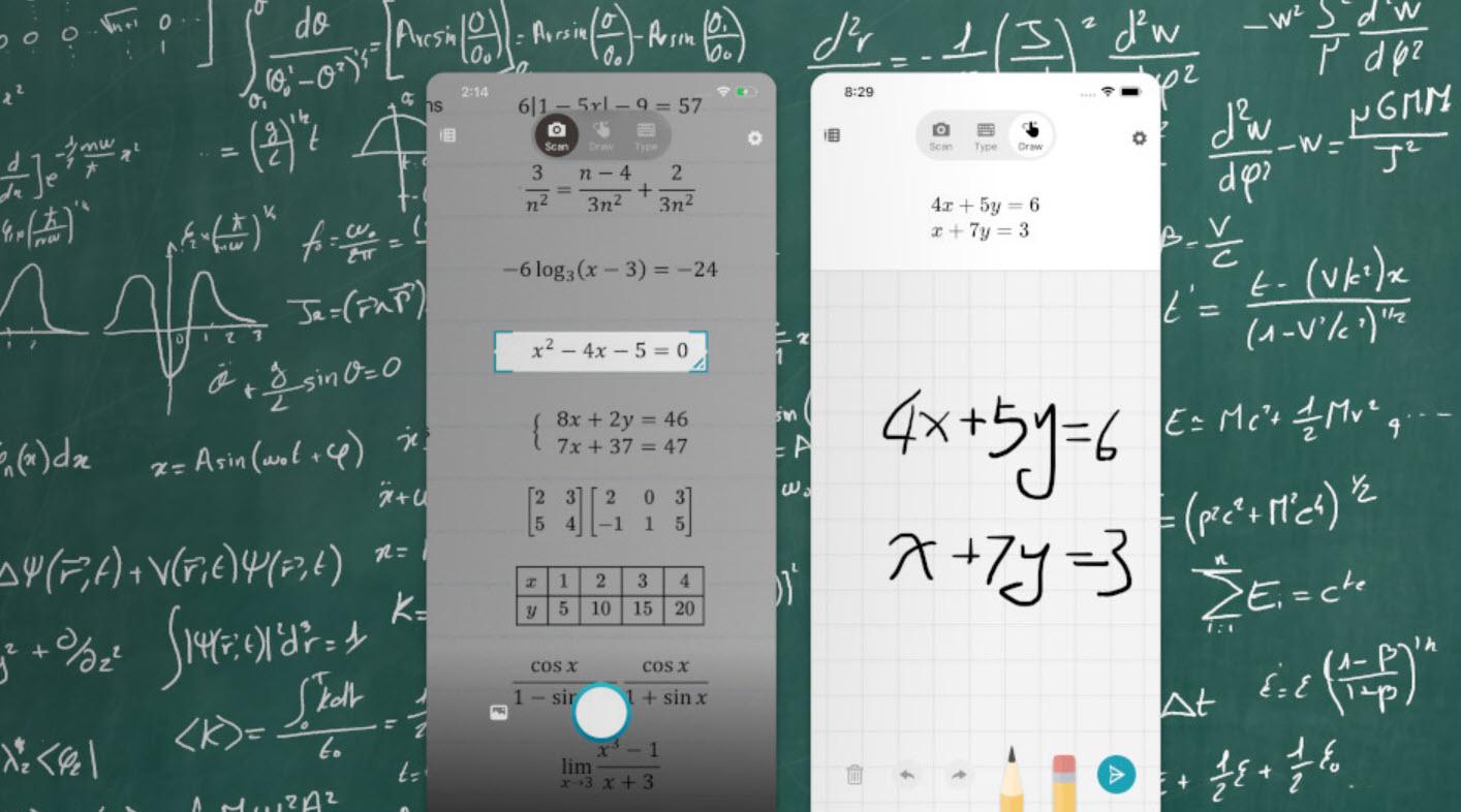 Math Solver - app fra Microsft til iPhone og Android